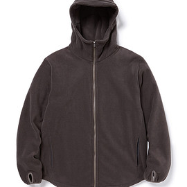 nonnative - CYCLIST FULL ZIP HOODY POLY FLEECE POLARTEC®