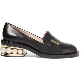 Nicholas Kirkwood - Casati embellished leather loafers