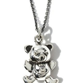 HYSTERIC GLAMOUR - JAM×HYSTERIC/HYSTERIC BEAR 3Dダイヤ入りネックレス