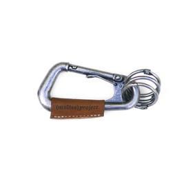multee project - type-1l carabiner / anti-silver