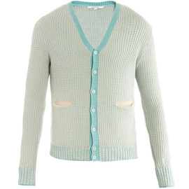 CARVEN - Dual weave cardigan