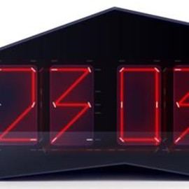 Art. Lebedev Studio - Reflectius Clock