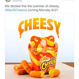 burger king - cheetos