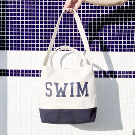 THE POOL AOYAMA - 2WAY HANDLE TOTE BAG