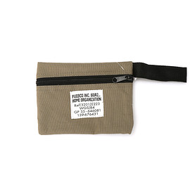 PUEBCO - LAMINATED FABRIC POUCH/SHORT