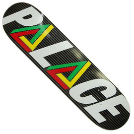 PALACE Skateboards - PALACE DECK TRI LOGO RASTA 8.3