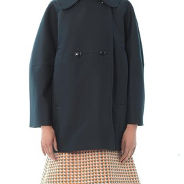 CARVEN - Double-breasted cotton coat