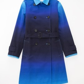 Paul Smith BLACK - DIP DYE TRENCH