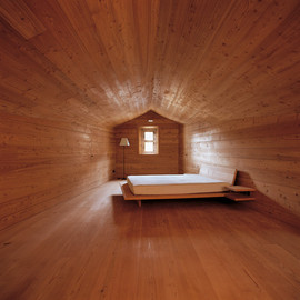 Hans-Jorg Rug Architect - Bedroom, Andrea House, Madulain, Switzerland
