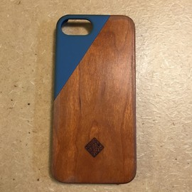 Native Union - CLIC WOODEN iPhone5 ケース ブルー