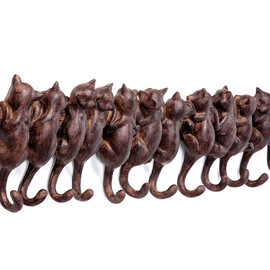 Nabe Collection - Cats Coat Rack コートハンガー