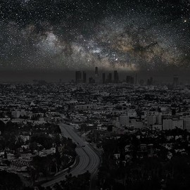 Darkened Cities / Los Angeles 34° 03' 20'' N