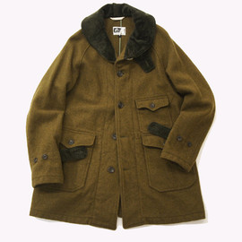 Engineered Garments - MAKINAW COAT - 24oz Melton / Olive