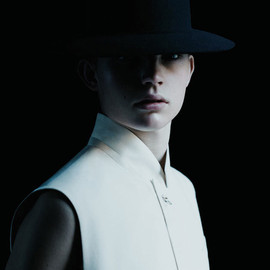 Dior Homme - One buttoned sleeveless jacket
