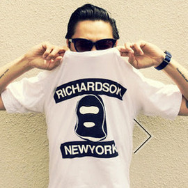 WTAPS - 40% Against Rights for Richardson MAGAJINE tee