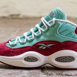 Reebok - SNEAKERSNSTUFF × REEBOK QUESTION MID RED/AQUA/WHITE