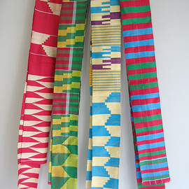 african hand woven stole