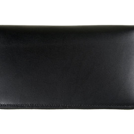 Whitehouse Cox - S1760 Clutch Purse-Derby Collection-Black×Tan
