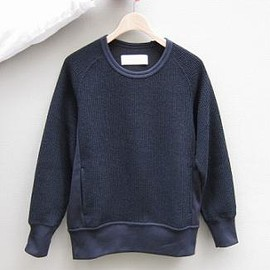 Curly - Curly(カーリー)/SHAGGY CN SWEAT(NAVY)