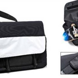 gravis, HECTIC - Messenger Bag (Black/White)