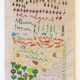 Vicky Lindo - embroidered work