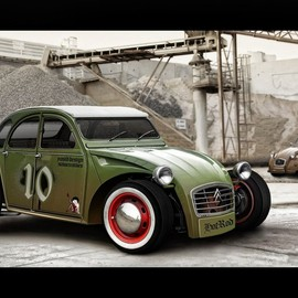 CITROEN - 2CV HOT ROD シトロエン