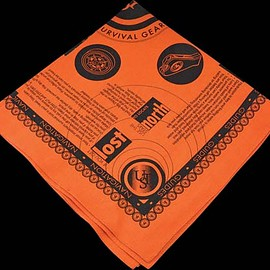 Ultimate Survival Technologies - Survival Tips Bandana - Orange