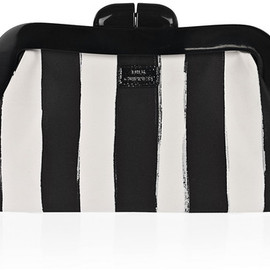 Lulu Guinness - Striped Clutch Bag