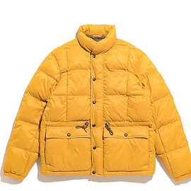 RRL - Quilted Jacket-Yellow Gold