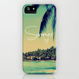 Society6 - 画像1: Summer Love Vintage Beach by RexLambo