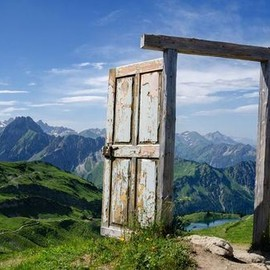 Germany - Mountain Doorway