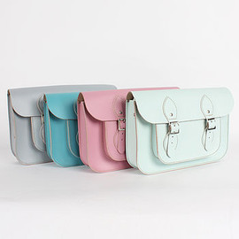 Bohemia - Leather Satchel Pastel Collection