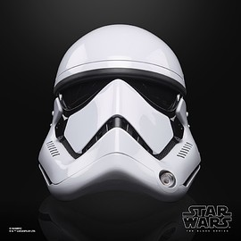 Hasbro - Star Wars The Black Series First Order Stormtrooper Electronic Helmet