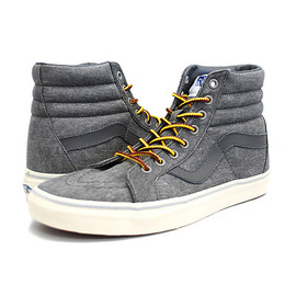 VANS - VANS FOR J.CREW バンズ SK8-HI REISSUE SNEAKERS ジェイクルー別注 (Washed)Highrise Grey VN-0ZA0ENP