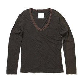 sacai - Pocket Border Long Sleeve Tshirt