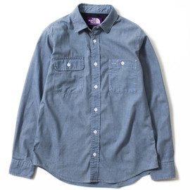 THE NORTH FACE PURPLE LABEL - COOLMAX® Indigo Chambray Shirt