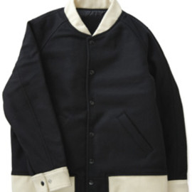 PHINGERIN - All Melton Award Jacket  (navy)