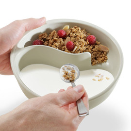 Brookstone - Obol - never-soggy cereal bowl