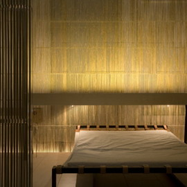 Kengo Kuma - Bedroom Within the Bamboo House