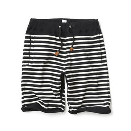 HEAD PORTER PLUS - BORDER SWEAT SHORTS BLACK