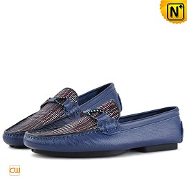 cwmalls - Melbourne Mens Leather Moccasins Penny Shoes CW740312