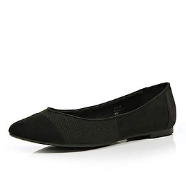 River Island - BLACK POINTED SHOES