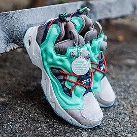 Reebok - Insta Pump Fury Road TR (Beach Stone/Exotic Teal)