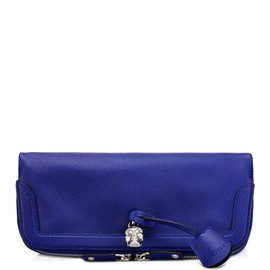 Alexander McQueen - Padlock fold-over clutch bag