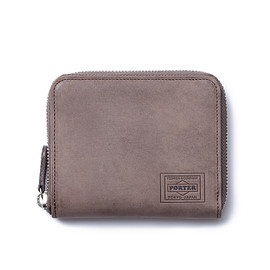"HEAD PORTER - ""ORCIA"" WALLET (M) BROWN"