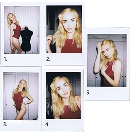 danielle sharp - Bodysuit Polaroids (Small)