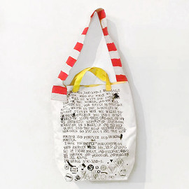 SOUND TRACK - 2way tote bag