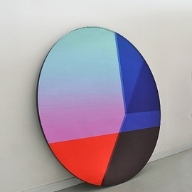 Brit Van Nerven - Seeing Glass series/Big Round Multi Colours