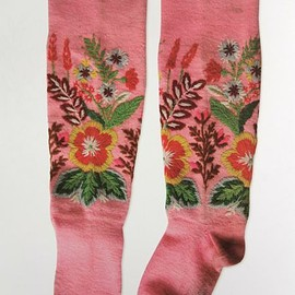 Embroidered socks : A Needlework Tradition from Estonia