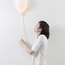 haoshi design - balloon X lamp